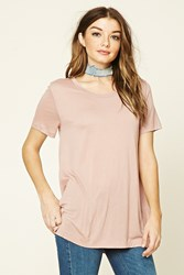 Forever 21 Oversized Scoop Neck Tee