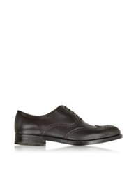 Fratelli Rossetti Ebony Leather Oxford Shoe Dark Brown