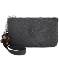 Kipling Creativity Extra Large Cosmetic Pouch Black Croc