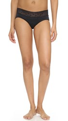 Rosie Pope Seamless Maternity Panties With Lace Black