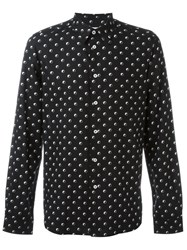 Paul Smith Circle Print Shirt Black