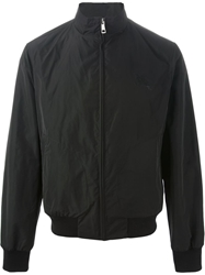 Burberry Brit Logo Zip Up Jacket Black