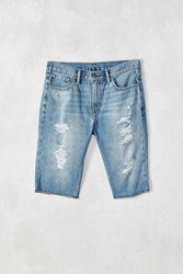 Levi's 511 Hole In The Sky Destructed Denim Short Vintage Denim Medium