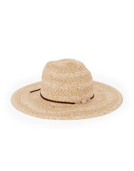 Bcbgeneration Stone Accented Floppy Hat Wheat