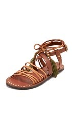 Free People Willow Sandals Tan Safari