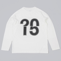 Our Legacy Moto Sweater Ignition Numbers White