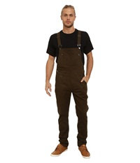 Publish Sawyer Classic Overall Pants Olive Men's Overalls One Piece