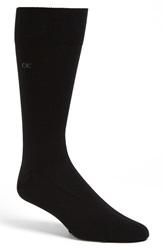 Calvin Klein Cotton Blend Socks Assorted 3 Pack Black
