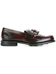 Church's 'Orehom' Loafers Red