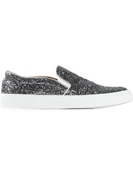 L'autre Chose Glitter Slip On Sneakers