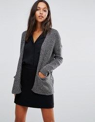 Vero Moda Pocket Cardigan Asphalt Grey
