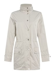 Cloud Nine Parka With Packaway Hood White