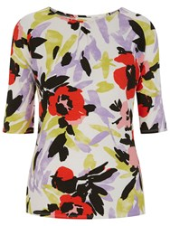 Havren Betsy Floral Top Multi Coloured