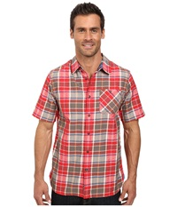 Outdoor Research Growler S S Shirt Redwood Men's Clothing Mahogany
