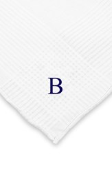 Men's Cathy's Concepts Personalized Hand Rolled Handkerchiefs White Set Of 3 B