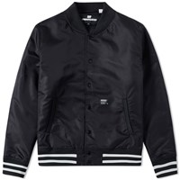 Undefeated 5 Strike Stadium Jacket Black