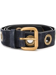 Orciani 'Sensory' Belt Blue