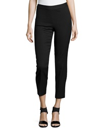 Natori Textured Jacquard Pants Black
