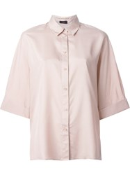 Joseph Kimono Sleeve Shirt Pink And Purple