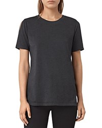 Allsaints Row Devo Tee Dark Night Blue