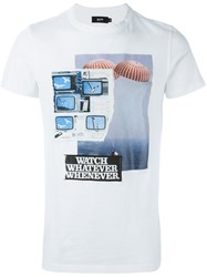 Blood Brother 'Whatever' T Shirt White