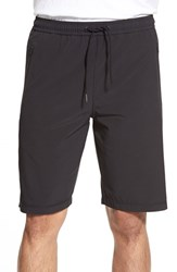 Men's Bpm Fueled By Zella 'Graphite' Moisture Wicking Woven Athletic Shorts