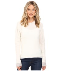 Diesel M Simul Pullover Ivory Women's Clothing White