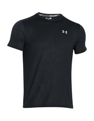 Under Armour Fitted Athletic Tee Black