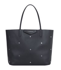 Givenchy Antigona Small Metal Cross Shopper Bag Female Black