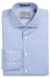 Men's John W. Nordstrom Trim Fit Non Iron Micro Pattern Dress Shirt