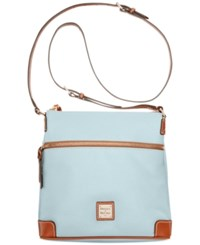 Dooney And Bourke Pebble Crossbody Pale Blue