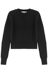 Helmut Lang Wool And Cashmere Pullover Black