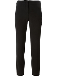 Burberry London Cropped Tailored Trousers Black