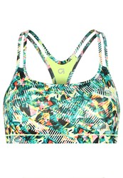Gap Sports Bra Neon Lemon Yellow