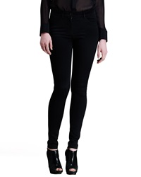 T By Alexander Wang High Waisted Stretch Skinny Jeans Black 27
