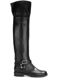 Gianvito Rossi Harness Detail Boots Black