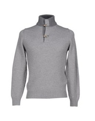 Della Ciana Turtlenecks Grey