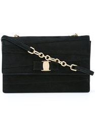 Salvatore Ferragamo 'Ginny' Crossbody Bag Black