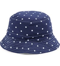 Ralph Lauren Reversible Cotton Bucket Hat Navy