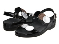Helle Comfort Tula Black Metallic Women's Sandals