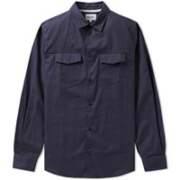 Norse Projects Villads Dry Texture Shirt Blue