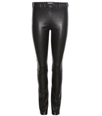 Each X Other Leather Leggings Black