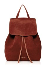Mansur Gavriel Drawstring Backpack Tan
