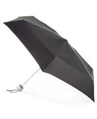 Totes Signature Manual Small Umbrella Black