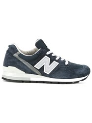 New Balance Lateral Logo Sneakers Blue