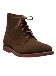 Walk Over Ankle Boots Brown