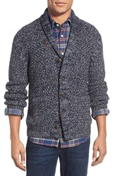 Men's Faherty Shawl Collar Merino Wool Cardigan