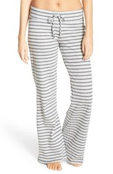 Nordstrom Women's Lingerie 'Lazy Mornings' Lounge Pants Grey Pearl Heather Stella Stp