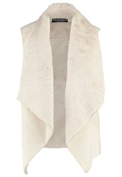 Dorothy Perkins Waistcoat Cream Off White