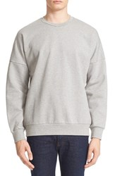 Acne Studios Men's Crewneck Sweatshirt Grey